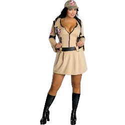 Ghostbuster Adult Plus Costume 100-180276