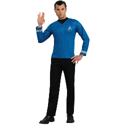 Star Trek Movie (2009) Blue Shirt Adult Costume 100-179945