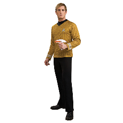 StarTrek Movie (2009) Gold Shirt Adult Costume 100-179953