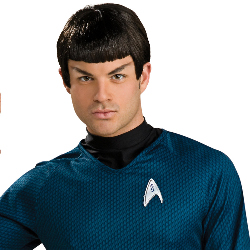 Star Trek Movie 2009 Spock Wig Adult 100-179990