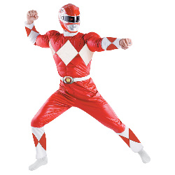 Power Rangers - Red Ranger Classic Adult Costume 100-179133