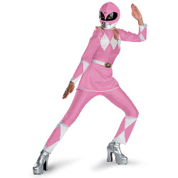 Power Rangers Pink Ranger Deluxe Adult Costume 100-179134