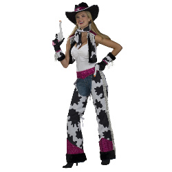 Glamour Cowgirl Adult Costume 100-179567