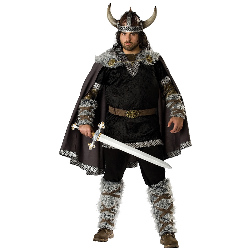Viking Warrior Adult Plus Costume 100-181356