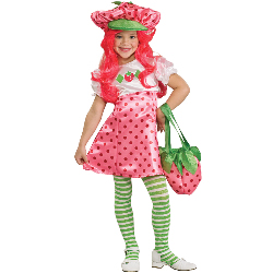 Strawberry Shortcake Deluxe Toddler / Child Costume 100-185328