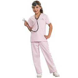 Pink Vet Child Costume 100-185418