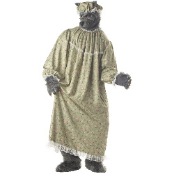 Wolf Granny Adult Costume 100-179005