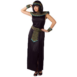 Black/Gold Cleopatra Adult Costume 100-178841
