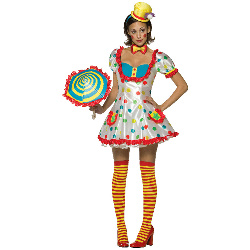 Clown (Female) Adult Costume 100-178817