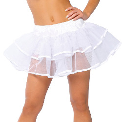 Double Layer Petticoat (White) Adult 100-185175