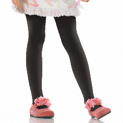 Black Opaque Tights Child 100-181168
