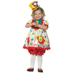 Clown Girl Toddler Costume 100-181067