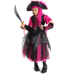 Caribbean Pirate Child Costume 100-185740