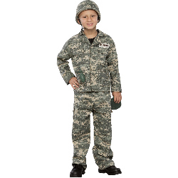 Army Soldier Child Costume 100-180875