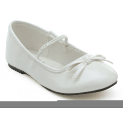 Ballet (White) Child Shoes 100-182046
