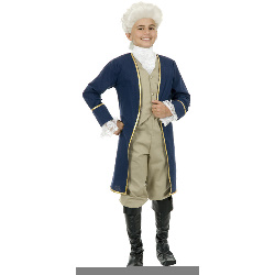 George Washington Child Costume 100-181868