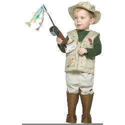 Future Fisherman Child Costume 100-181057