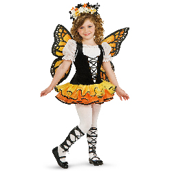 Monarch Butterfly Child Costume 100-185931