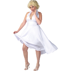 Marilyn Monroe Deluxe Classic Adult Plus Costume 100-188267