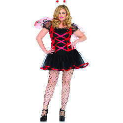 Lovely Ladybug Adult Plus Costume 100-187718