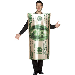 $100 Bill Adult Costume 100-188488