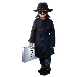 Jr Secret Agent Child Costume 100-194438