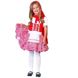 Lil' Miss Red Toddler / Child Costume 100-187556