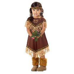 Lil' Indian Princess Toddler / Child Costume 100-194755