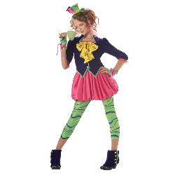The Mad Hatter Tween Costume 100-194806