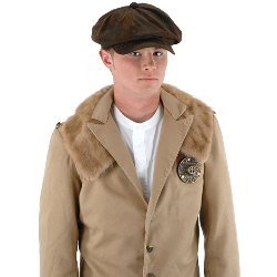 Steampunk Driver (Brown Suede) Hat Adult 100-195441