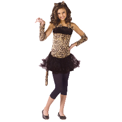 Wild Cat Child Costume 100-195012