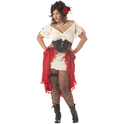 Cantina Gal Adult Plus Costume 100-194582