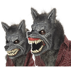 Werewolf Ani-Motion Adult Mask 100-194608