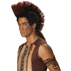 Indian Warrior Adult Wig 100-194644