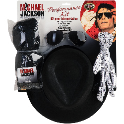 Michael Jackson Performance Accessory Kit (Adult) 100-195233
