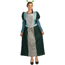 Shrek Forever After - Fiona Adult Plus Costume 100-195312