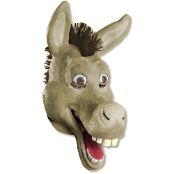 Shrek Forever After - Donkey 3/4 Vinyl Adult Mask 100-195316