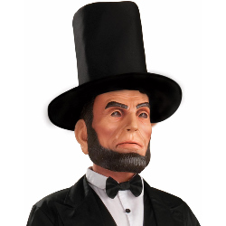 Abraham Lincoln Latex Adult Mask 100-195661