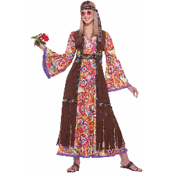 Hippie Love Child Adult Costume 100-195663
