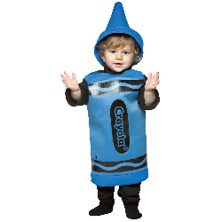 Blue Crayola Crayon Toddler Costume 100-195768