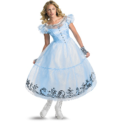 Alice in Wonderland Movie - Deluxe Alice Adult Costume 100-188029