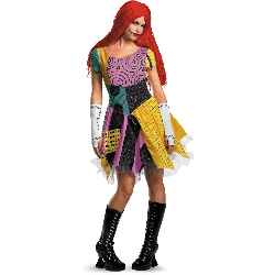 The Nightmare Before Christmas Sexy Sally Adult Costume 100-188043