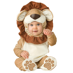 Lovable Lion Infant / Toddler Costume 100-196429