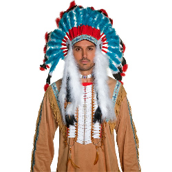 Western Authentic Indian Headdress Adult 100-196736