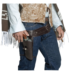 Authentic Western Gunman Belt & Holster Adult 100-196739