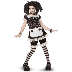 Gothic Rag Doll Child/Tween Costume 100-196902