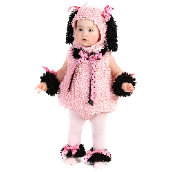 Pink Poodle Infant / Toddler Costume 100-197827