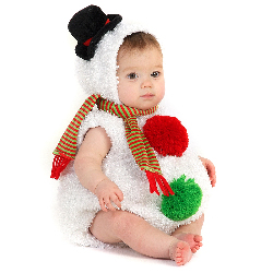 Baby Snowman Infant / Toddler Costume 100-197830