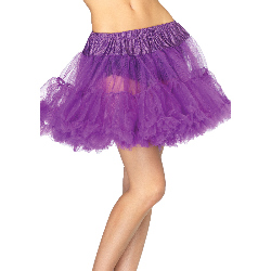 Purple Layered Tulle Petticoat (Adult) 100-198981