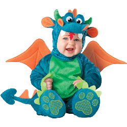 Dinky Dragon Infant / Toddler Costume 100-198749